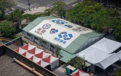 台灣版方艙醫院-瑞助營造報導當隱形的防疫國家隊